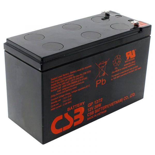 Аккумуляторная батарея CSB 12V 7.2AH (GP1272, 28W) - купить в интернет-магазине Анклав