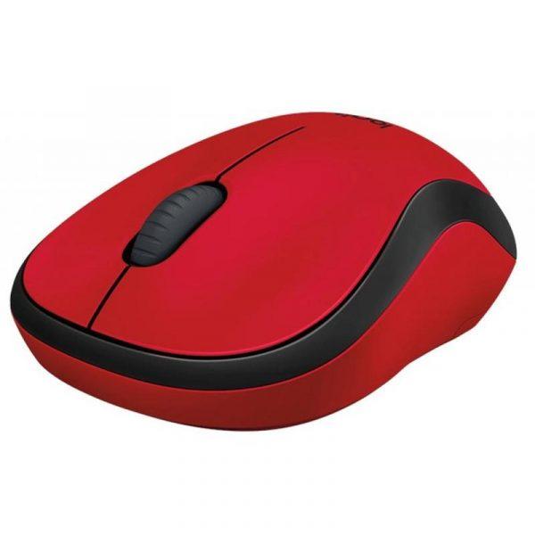 Мишка бездротова Logitech M220 Silent (910-004880) Red USB - купить в интернет-магазине Анклав