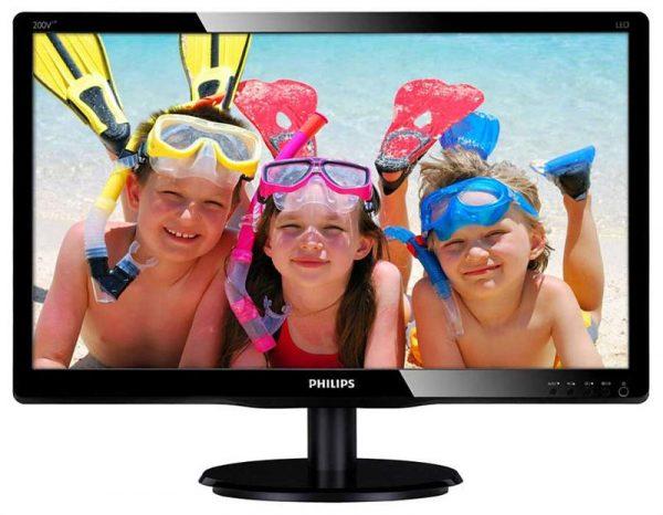 """Philips 19.5"""" 200V4LAB2/00 Black - купить в интернет-магазине Анклав"""
