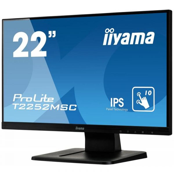 "Монітор Iiyama 21.5"" T2252MSC-B1 IPS Black - купить в интернет-магазине Анклав"