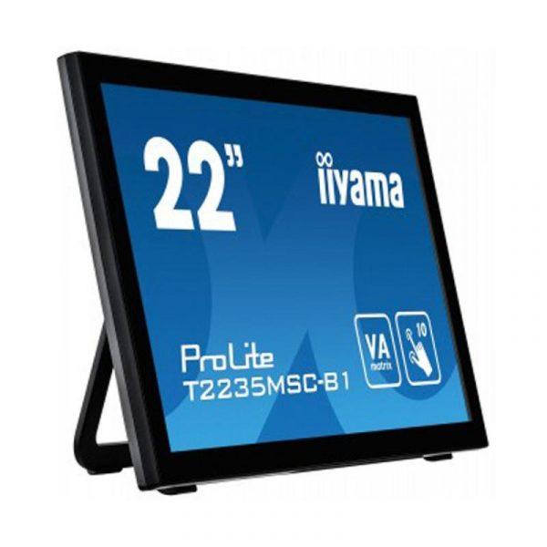 "Iiyama 21.5"" T2235MSC-B1 VA Black Multitouch - купить в интернет-магазине Анклав"