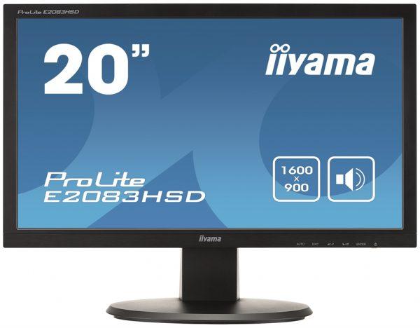 """Iiyama 19.5"""" E2083HSD-B1 Black - купить в интернет-магазине Анклав"""