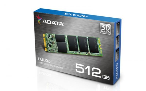 SSD  512GB A-Data Ultimate SU800 M.2 2280 SATAIII 3D TLC (ASU800NS38-512GT-C) - купить в интернет-магазине Анклав