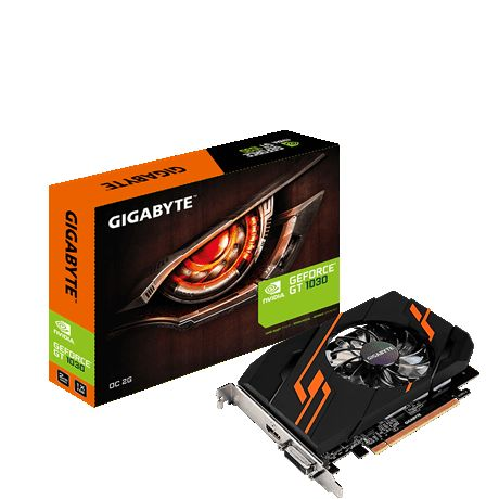 GF GT 1030 2Gb GDDR5 OC Gigabyte (GV-N1030OC-2GI) - купить в интернет-магазине Анклав