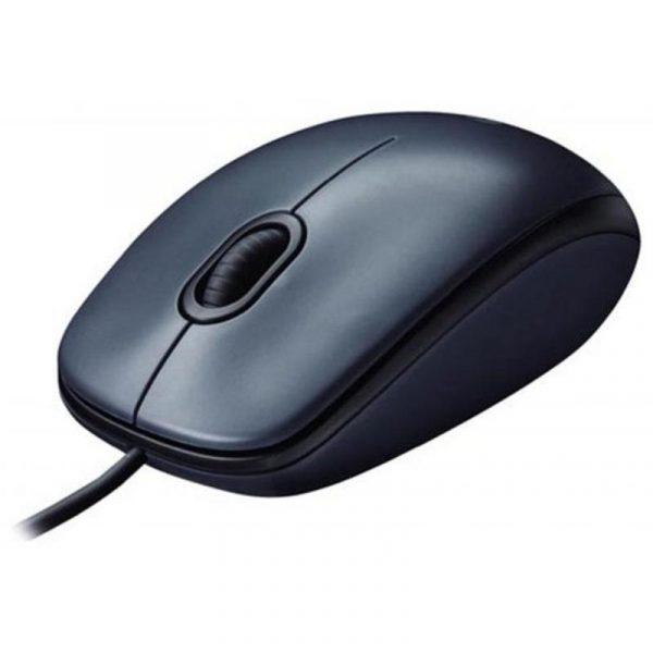 Мишка Logitech M100 (910-005003) Gray USB - купить в интернет-магазине Анклав