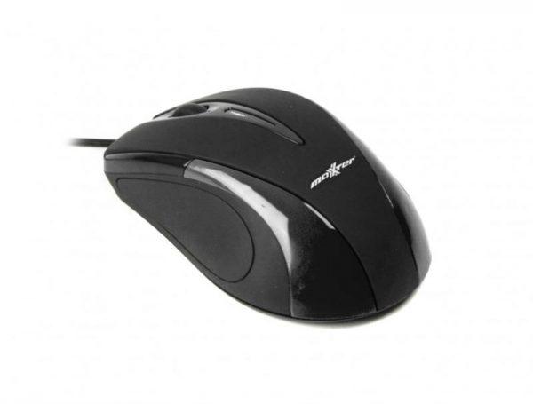 Мышь Maxxter Mc-401 Black USB - купить в интернет-магазине Анклав