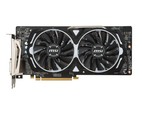 AMD Radeon RX 580 8Gb GDDR5 Armor OC MSI (Radeon RX 580 ARMOR 8G OC) - купить в интернет-магазине Анклав