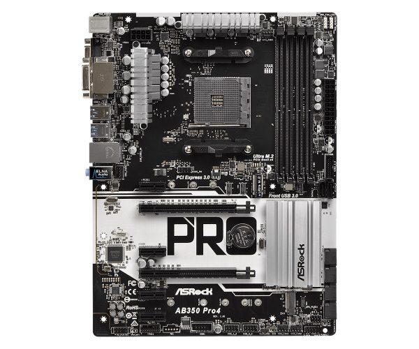 ASRock AB350 Pro4 Socket AM4 - купить в интернет-магазине Анклав