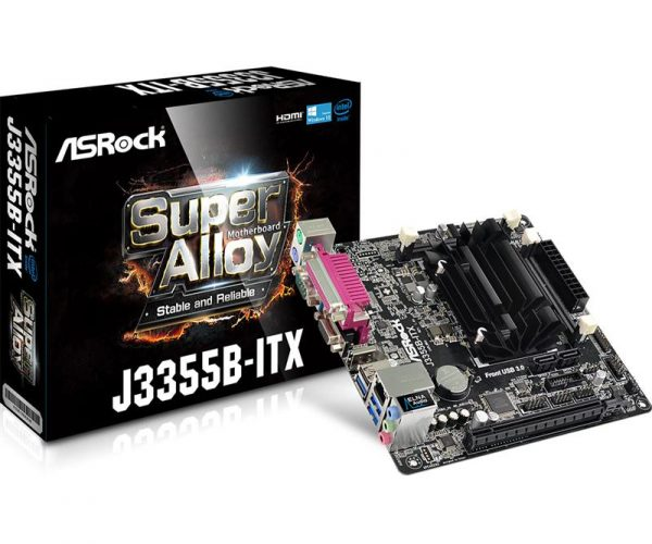 ASRock J3355B-ITX Mini ITX - купить в интернет-магазине Анклав