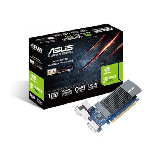 GF GT 710 1GB GDDR5 Asus (GT710-SL-1GD5-BRK) - купить в интернет-магазине Анклав