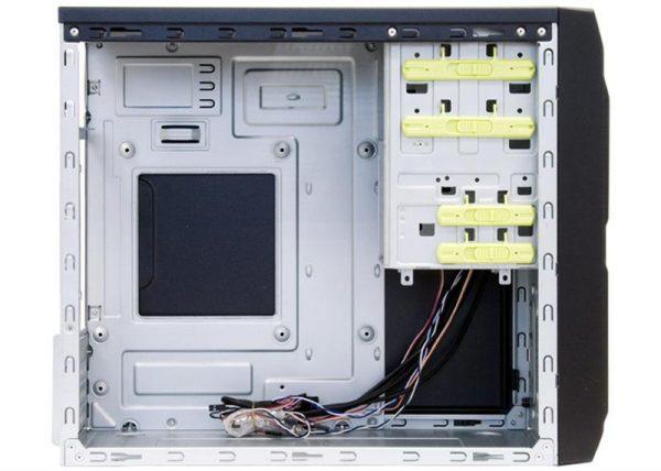 Корпус Chieftec Libra LT-01B-500S8, 500W, 1xUSB3.0, Black - купить в интернет-магазине Анклав