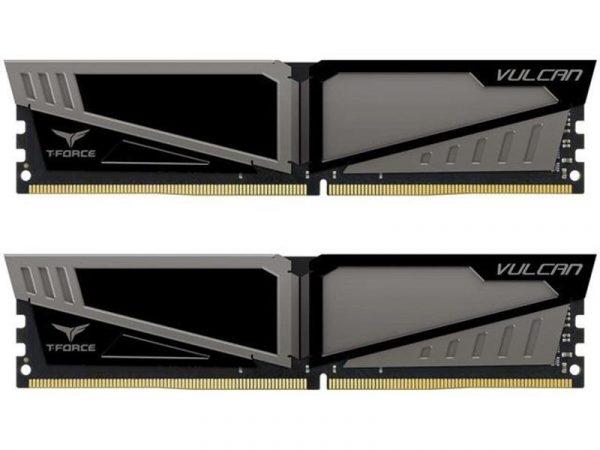 DDR4 2x8GB/3200 Team T-Force Vulcan Gray (TLGD416G3200HC16CDC01) - купить в интернет-магазине Анклав