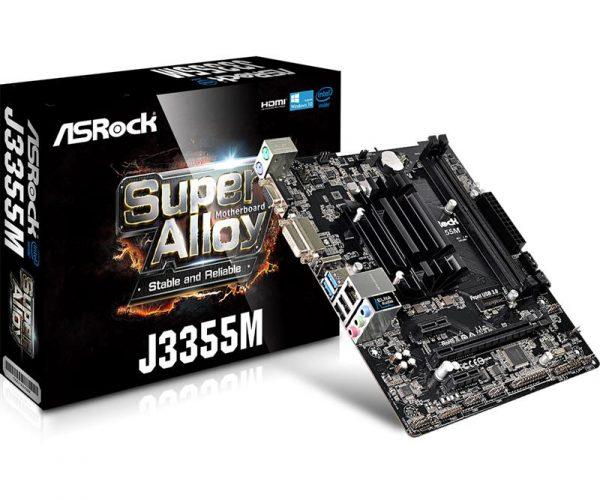 ASRock J3355M Micro ATX - купить в интернет-магазине Анклав