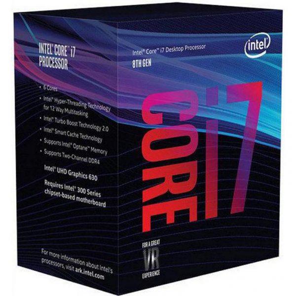 Intel Core i7 8700 3.2GHz (12MB, Coffee Lake, 65W, S1151) Box (BX80684I78700) - купить в интернет-магазине Анклав