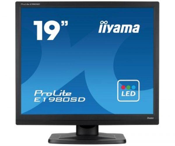 "Монітор Iiyama 19"" E1980SD-B1 Black - купить в интернет-магазине Анклав"
