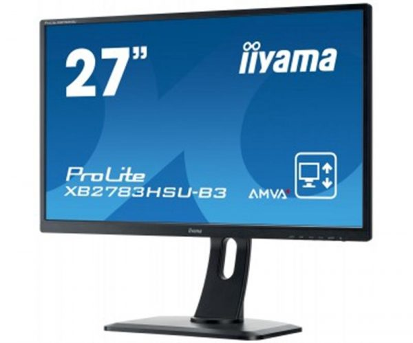 "Iiyama 27"" XB2783HSU-B3 AMVA+ Black - купить в интернет-магазине Анклав"