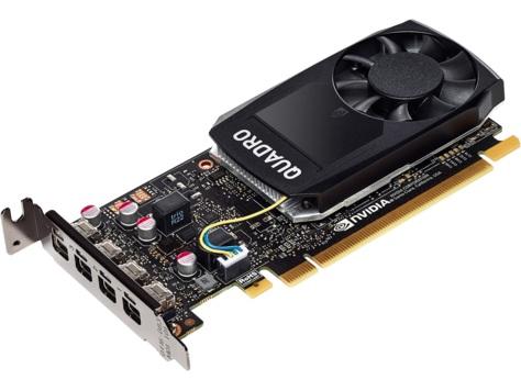 Quadro P1000 4GB GDDR5 HP (1ME01AA) - купить в интернет-магазине Анклав