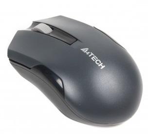 Мышь беспроводная A4Tech G3-200N Grey USB V-Track - купить в интернет-магазине Анклав