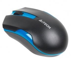Мышь беспроводная A4Tech G3-200N Black/Blue USB V-Track - купить в интернет-магазине Анклав