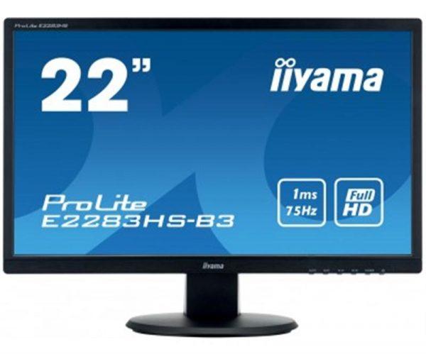 """Iiyama 21.5"""" E2283HS-B3 Black - купить в интернет-магазине Анклав"""
