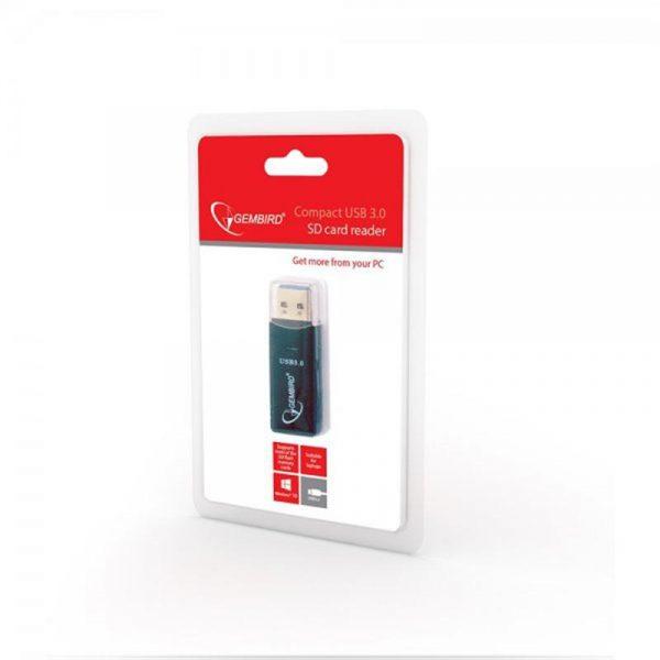 Картрідер Gembird USB3.0 UHB-CR3-01 Black - купить в интернет-магазине Анклав