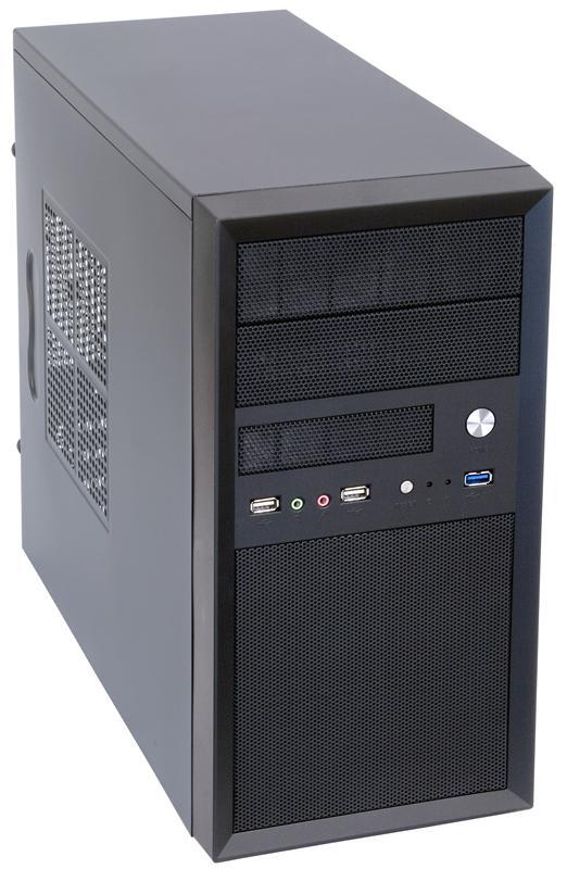 Корпус Chieftec Mesh CT-01B-400S8 400W 1xUSB3.0 Black - купить в интернет-магазине Анклав