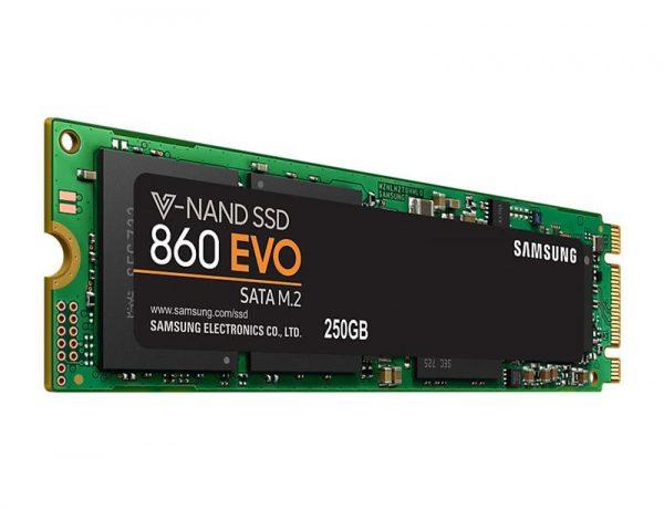 Накопичувач SSD  250GB Samsung 860 EVO M.2 2280 SATAIII MLC (MZ-N6E250BW) - купить в интернет-магазине Анклав