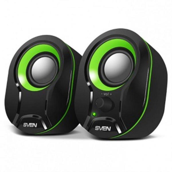 Акустична система Sven 290 Black/Green - купить в интернет-магазине Анклав