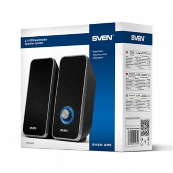 Акустическая система Sven 325 Black UAH - купить в интернет-магазине Анклав