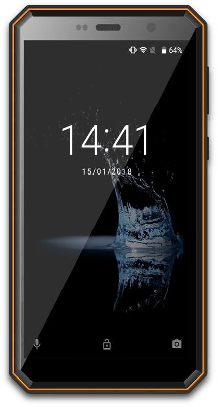 Sigma mobile X-treme PQ52 Dual Sim Black/Orange - купить в интернет-магазине Анклав