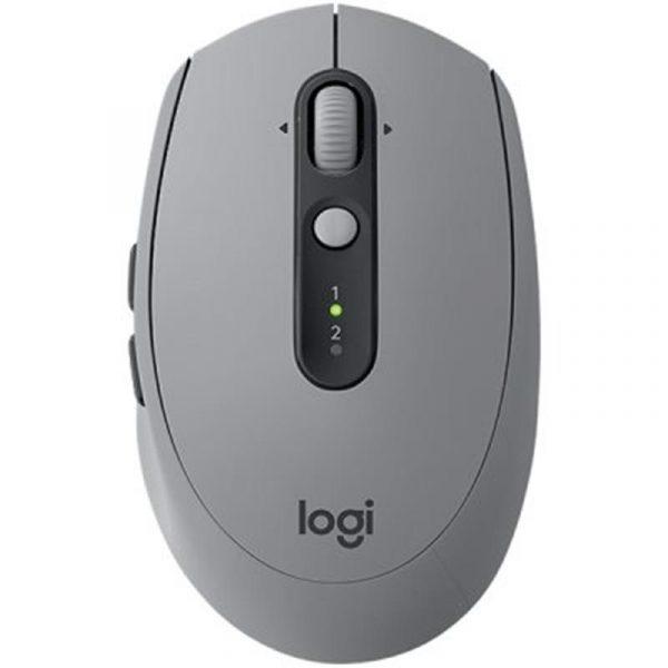 Мышь Bluetooth+Wireless Logitech M590 Silent (910-005198) Mid Grey - купить в интернет-магазине Анклав