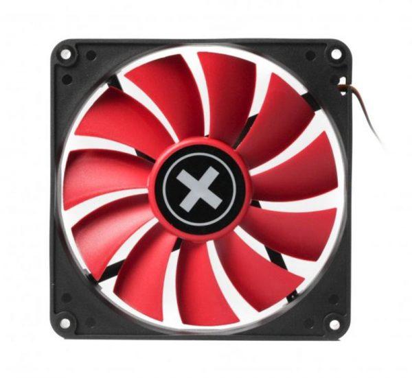 Вентилятор Xilence XPF140.R.PWM (XF051), 140х140х25мм, 3-pin+4-pin, Black/Red - купить в интернет-магазине Анклав