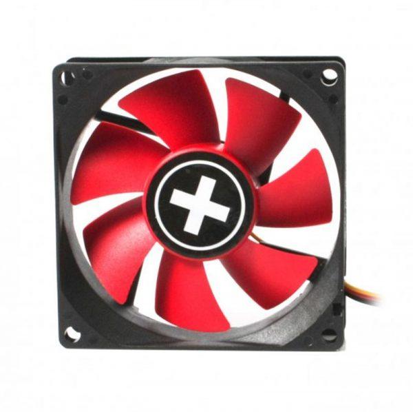 Вентилятор Xilence XPF80.R (XF037), 80х80х25мм, 3-pin+4-pin, Black/Red - купить в интернет-магазине Анклав