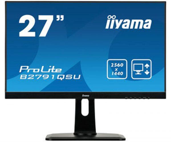 "Iiyama 27"" B2791QSU-B1 Black - купить в интернет-магазине Анклав"