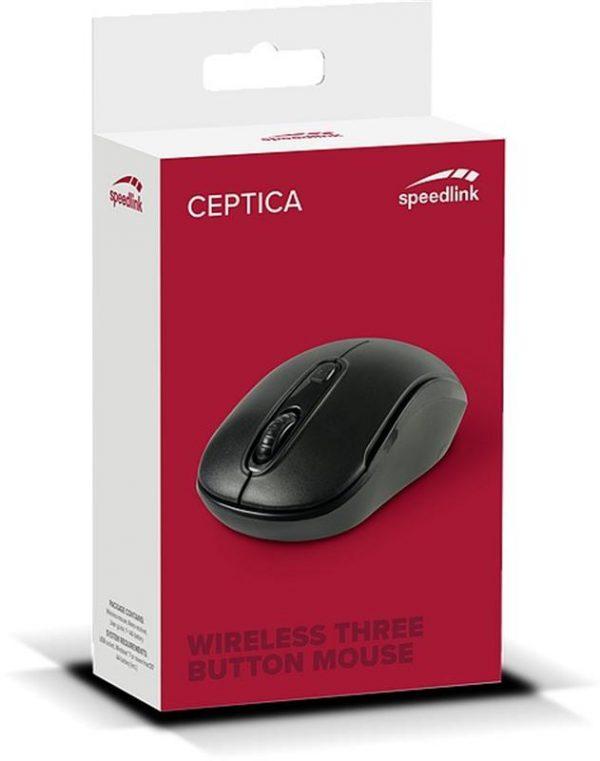 Мышь беспроводная SpeedLink Ceptica (SL-630013-BKBK) Black USB - купить в интернет-магазине Анклав