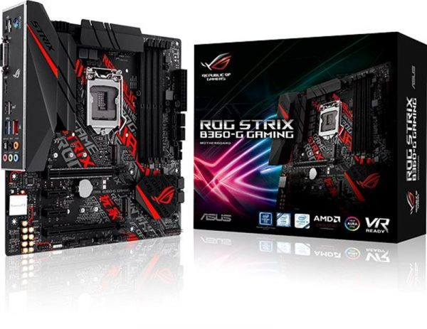 Asus ROG Strix B360-G Gaming Socket 1151 - купить в интернет-магазине Анклав
