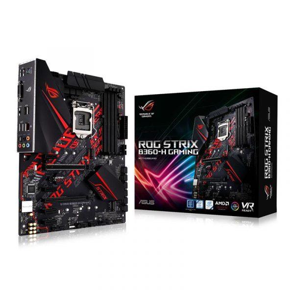Материнська плата Asus ROG Strix B360-H Gaming Socket 1151 - купить в интернет-магазине Анклав