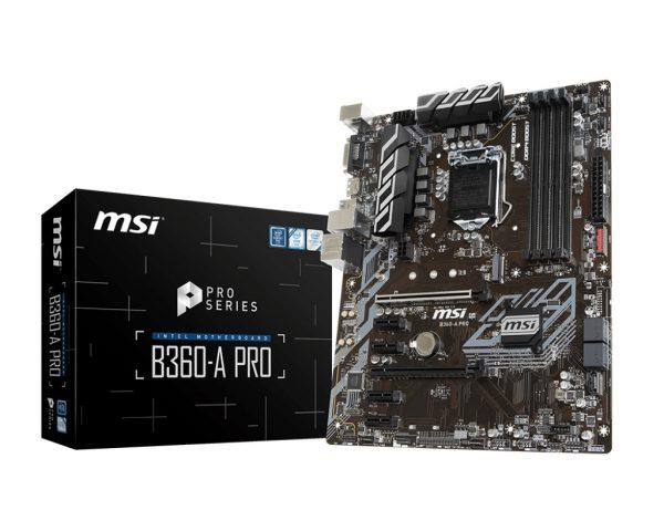MSI B360-A PRO Socket 1151 - купить в интернет-магазине Анклав