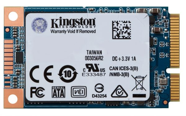 Накопитель SSD  120GB Kingston UV500 mSATA SATAIII 3D TLC (SUV500MS/120G) - купить в интернет-магазине Анклав