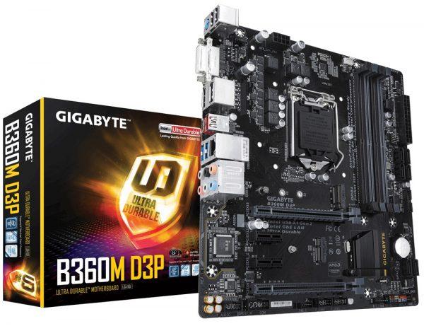 Материнська плата Gigabyte B360M D3P Socket 1151 - купить в интернет-магазине Анклав