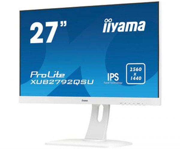 "Iiyama 27"" XUB2792QSU-W1 IPS White - купить в интернет-магазине Анклав"