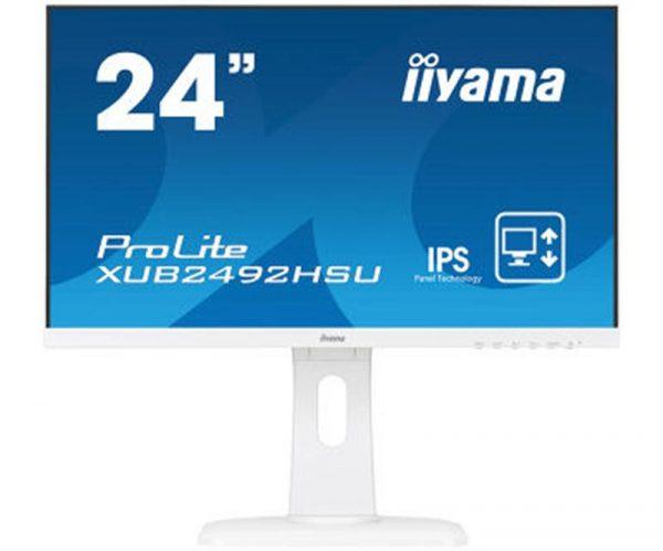 "Iiyama 23.8"" XUB2492HSU-W1 IPS White - купить в интернет-магазине Анклав"