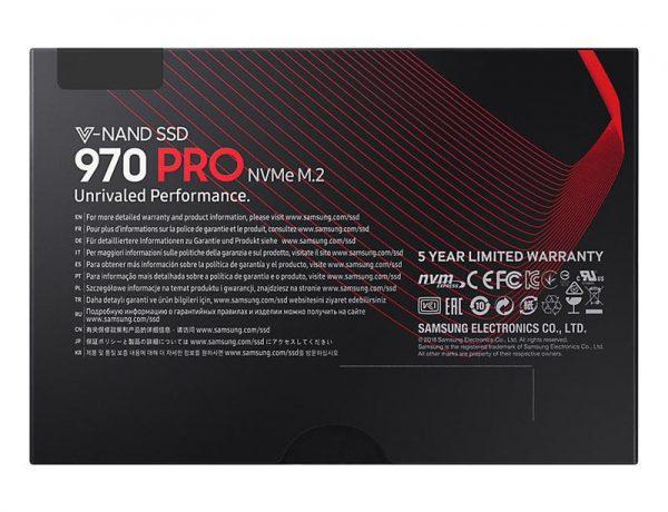 SSD 1TB Samsung 970 PRO M.2 PCIe 3.0 x4 V-NAND MLC (MZ-V7P1T0BW) - купить в интернет-магазине Анклав