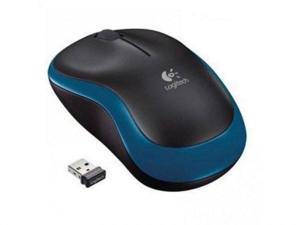 Мышь беспроводная Logitech M185 (910-002236) Blue USB - купить в интернет-магазине Анклав