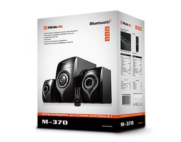 Акустическая система REAL-EL M-370 Black UAH - купить в интернет-магазине Анклав