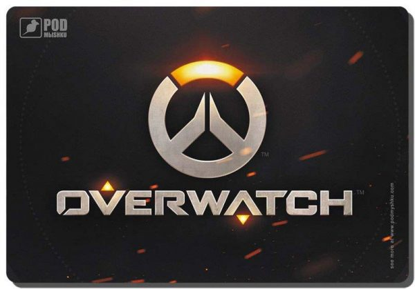 Ігрова поверхня Podmyshku Game Overwatch-М - купить в интернет-магазине Анклав