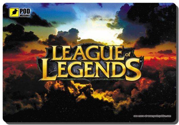 Ігрова поверхня Podmyshku Game League of Legends-М - купить в интернет-магазине Анклав
