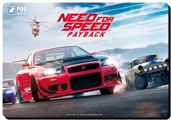 Ігрова поверхня Podmyshku Game Need for speed-М - купить в интернет-магазине Анклав