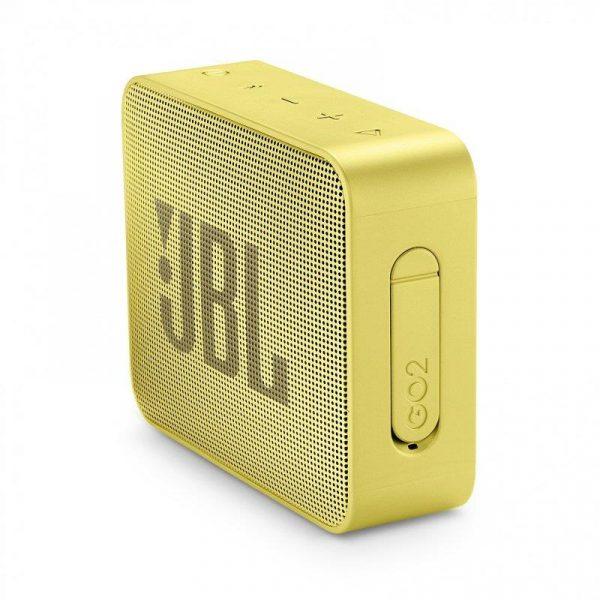 Акустическая система JBL GO 2 Lemonade Yellow (JBLGO2YEL) - купить в интернет-магазине Анклав