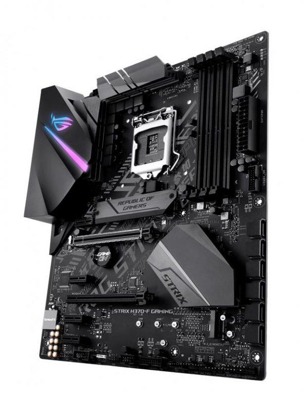 Материнська плата Asus ROG Strix H370-F Gaming Socket 1151 - купить в интернет-магазине Анклав